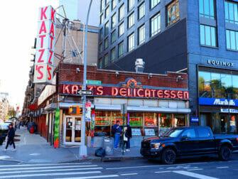 Lower East Side New Yorkissa - Katz's Deli