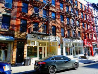 Lower East Side New Yorkissa - kaupat