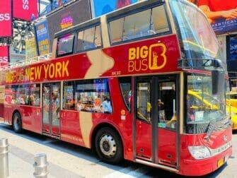 Hop on Hop off -bussit New Yorkissa - Big Bus
