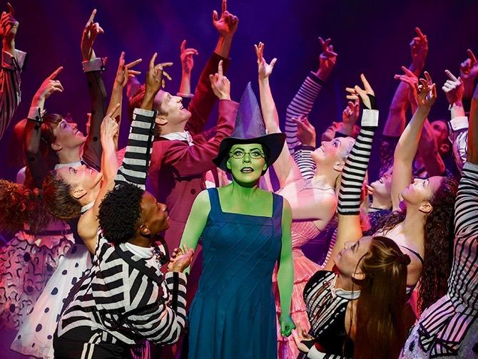 Wicked Broadway-liput - Elphaba ja muut näyttelijät