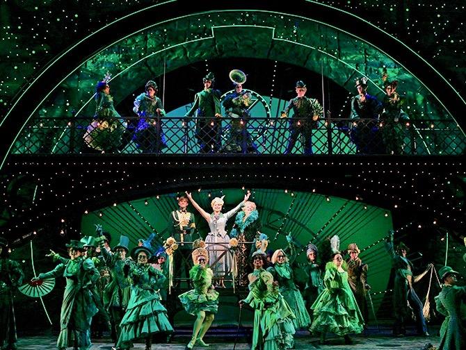 Wicked Broadway-liput - Lavastus