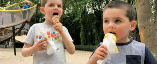 Ruokailu lasten kanssa New Yorkissa