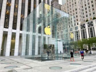 Elektroniikka ja vempaimet New Yorkissa - Apple Store