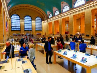 Elektroniikan ostaminen New Yorkissa - Apple Store Grand Central