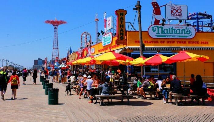 Pizza-kierros New York - Coney Island
