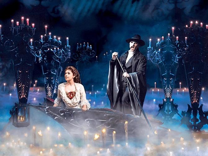 Phantom of the Opera Broadway-liput - Vesillä