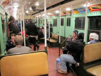 Vintage Trains New Yorkissa - juna sisalta