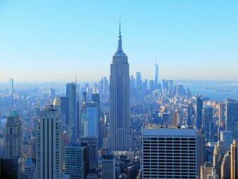 New York bussikierros ja nähtävyys alennuspaketti - Empire State Building