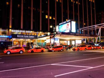 Madison Square Garden New Yorkissa - mainostaulu