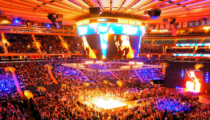 Madison Square Garden New Yorkissa - Sisustus