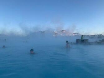 Valilasku Islannissa - Blue Lagoon