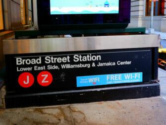 WiFi New Yorkissa - WiFi Fifth Avenue -pysakilla