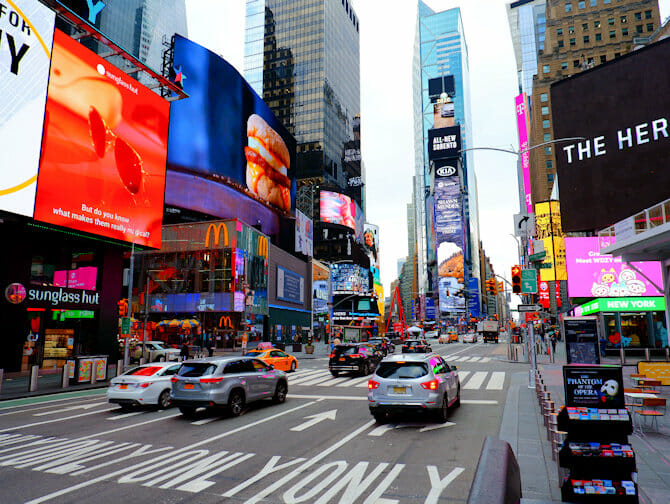 Glee-kierros New Yorkissa