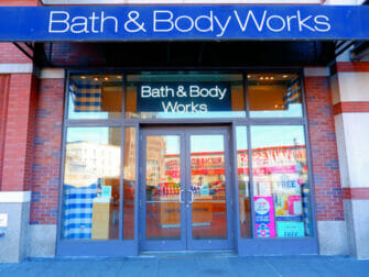 Kosmetiikkaostokset New Yorkissa - Bath and Body Works
