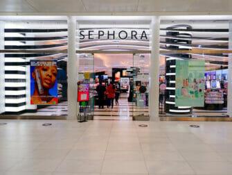 Kosmetiikkaostokset New Yorkissa - Sephora