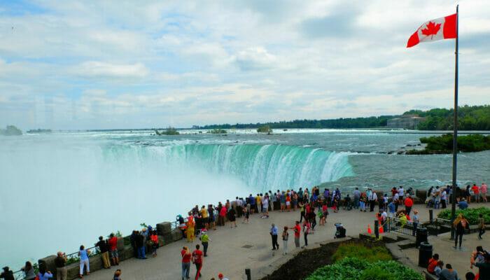 Niagaran putoukset päivämatka yksityiskoneella - Kanada