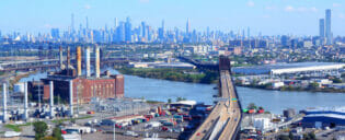 Kulkuyhteydet Newark-lentokentalta Manhattanille
