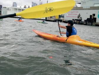 Kajakki vuokraus New Yorkissa - Hudsonjoki