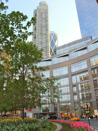 Manhattanin pyöräretki - Columbus Circle