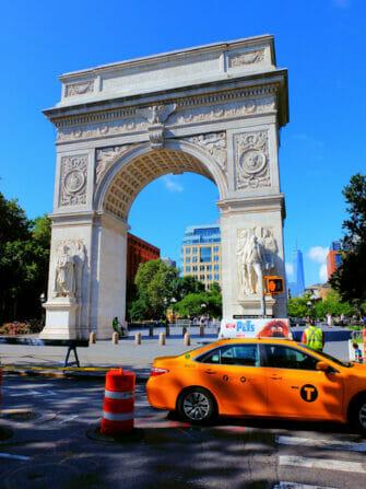 Manhattanin pyöräretki - Washington Square Park