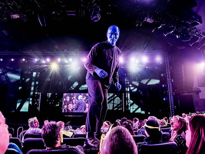 Blue Man Group -liput New Yorkissa - Blue Man katsomossa