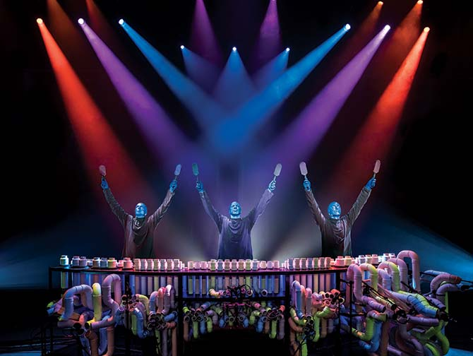Blue Man Group -liput New Yorkissa - Rummut