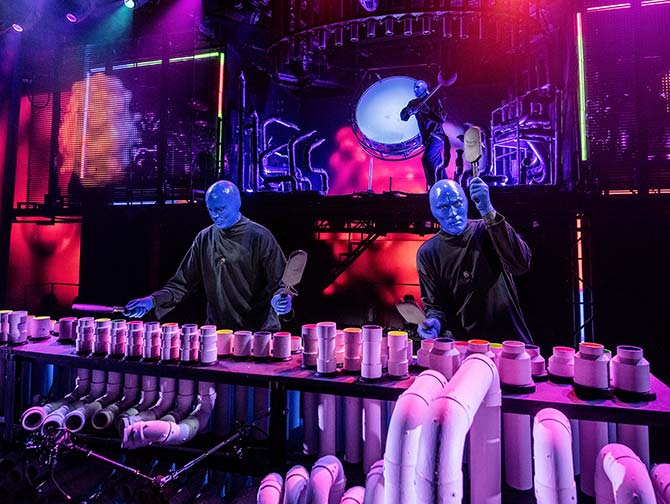 Blue Man Group -liput New Yorkissa - Lavalla