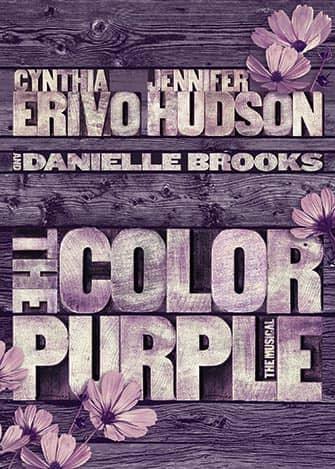 The Color Purple Broadway-liput - juliste