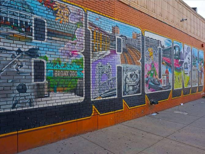 Opastettu Brooklyn, Queens ja Bronx -kierros - Bronx Street Art