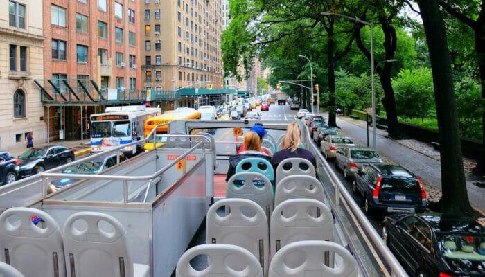 Gray Line Hop on Hop off bussit New Yorkissa - opas