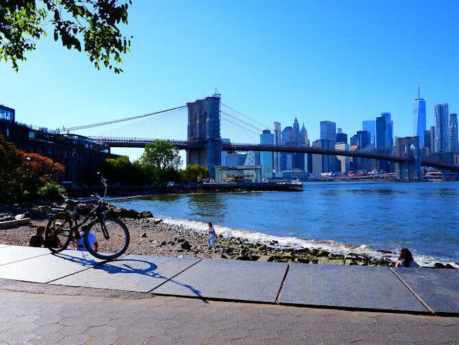 Pyörän vuokraus New Yorkissa - Brooklynin silta