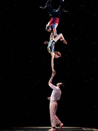 Cirque du Soleil -liput New Yorkissa - akrobaatit