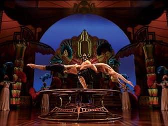 Cirque du Soleil -liput New Yorkissa - tasapainoilua