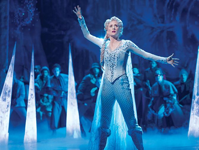 Frozen Broadway-liput - Elsa