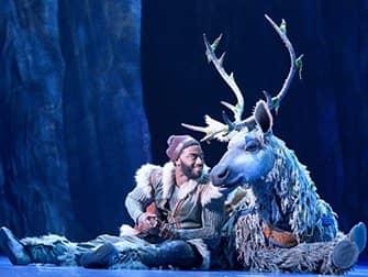 Frozen Broadway-liput - Kristoff ja Sven