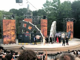 Shakespeare in the Park New Yorkissa - yleisö