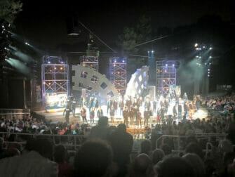 Shakespeare in the Park New Yorkissa - loppunaytos