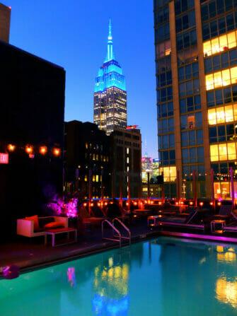 Uinti New Yorkissa - Royalton Hotel
