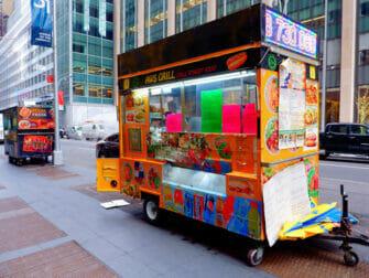 Street food New Yorkissa