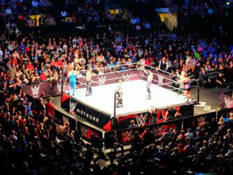 WWE paini-liput New Yorkissa - Ottelu