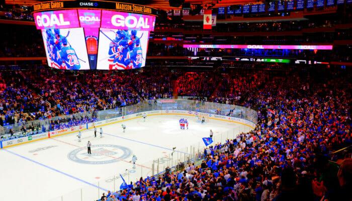NHL jaakiekko new yorkissa