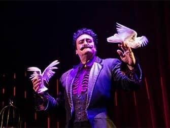 The Illusionists Broadway-liput - kyyhkyset