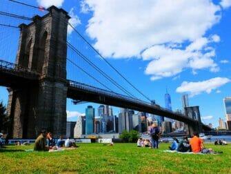 Parhaat nakoalapaikat New Yorkissa - Brooklyn Bridge Park