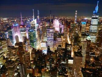 Parhaat nakoalapaikat New Yorkissa - Empire State Building