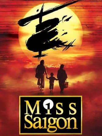 Miss Saigon Broadway-liput - juliste