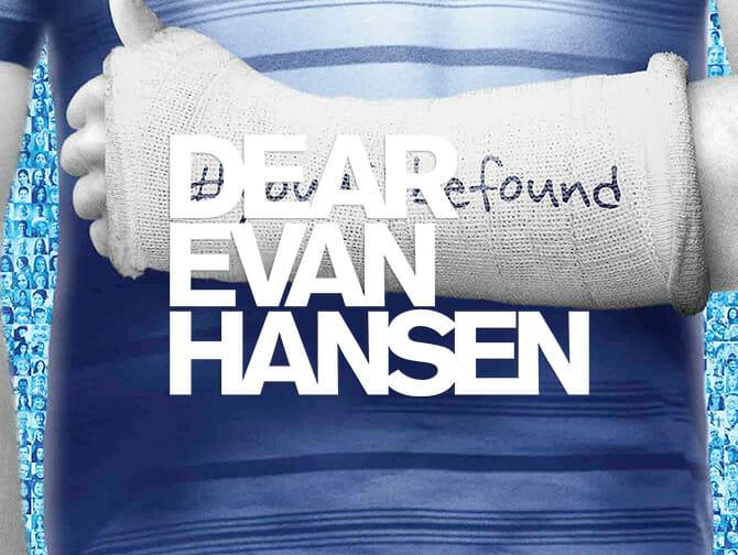 Dear Evan Hansen Broadway-liput