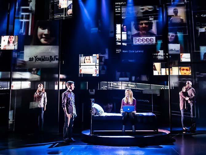 Dear Evan Hansen Broadway-liput - Music Box -teatterilla