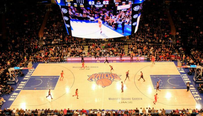 NBA koripallo New Yorkissa