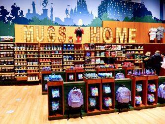Disney-kauppa Times Squarella - Mukit