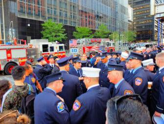 911 muistopaiva New Yorkissa - palomiehet